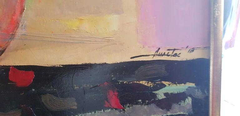 Allegro Con Brio - Abstract Painting by Anastas Kamburov