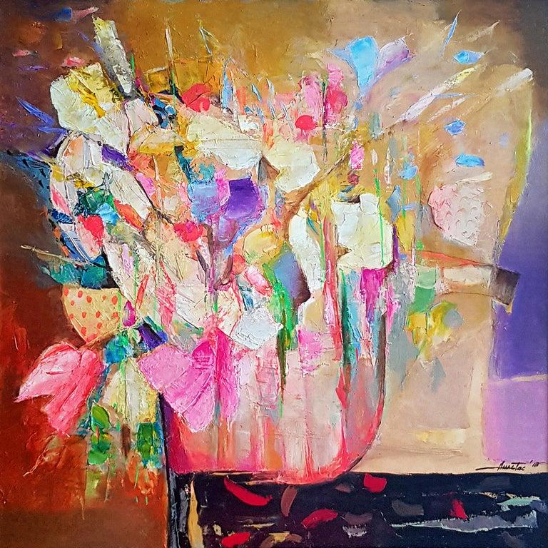 Anastas Kamburov Abstract Painting - Allegro Con Brio