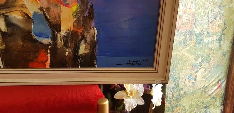 The Sunrise - Painting by Anastas Kamburov