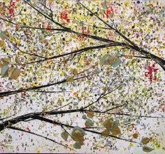 Original mixed media painting by Anastasia Kimmett   AUTUMN'S GRACE