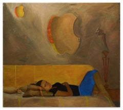 Digital Dream - Original Oil on Canvas by Anastasia Kurakina - 2012