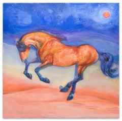 Horse - Original Oil on Canvas by Anastasia Kurakina - 2010