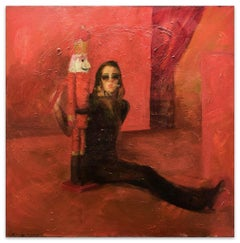 Melania de Leyva - Original Oil on Canvas by Anastasia Kurakina - 2013