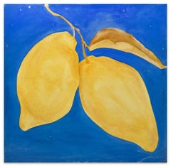 Yellow Lemons - Oil on Canvas by Anastasia Kurakina - 2000s