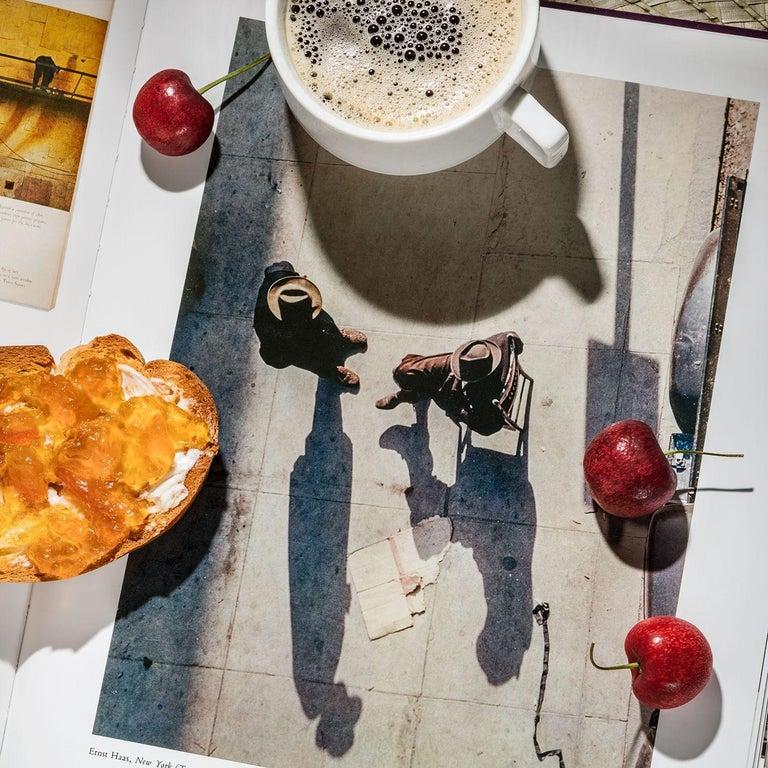 Anastasia Samoylova Color Photograph - Breakfast with Ernst Haas 1949