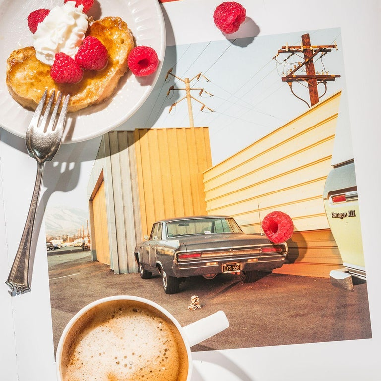 Anastasia Samoylova Color Photograph - Breakfast with William Eggleston 1976