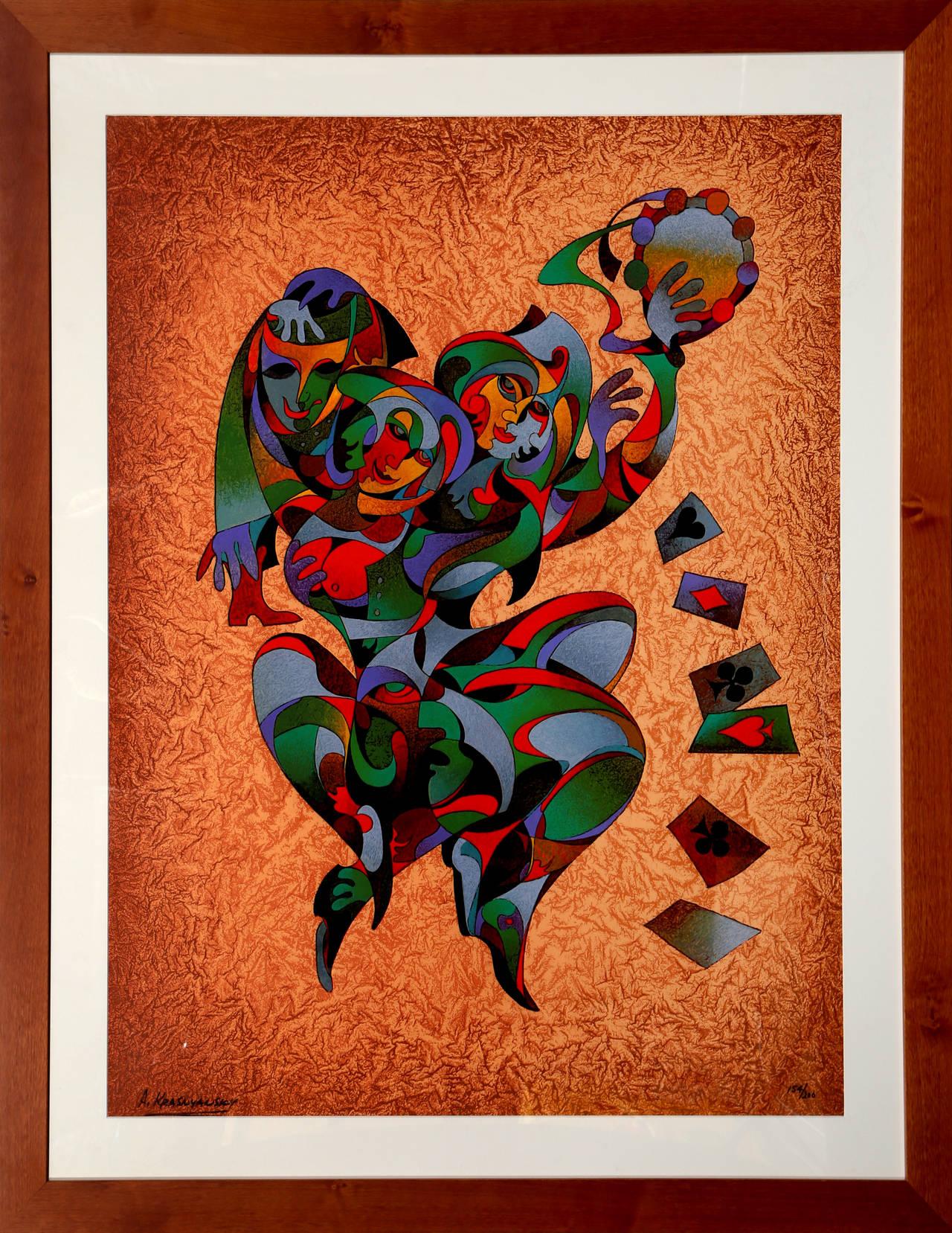 Rapture, Pop Art Serigraph by Krasnyansky