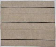 Anatolia Grey Kilim, Flat-Woven Rug or Covering Fabric