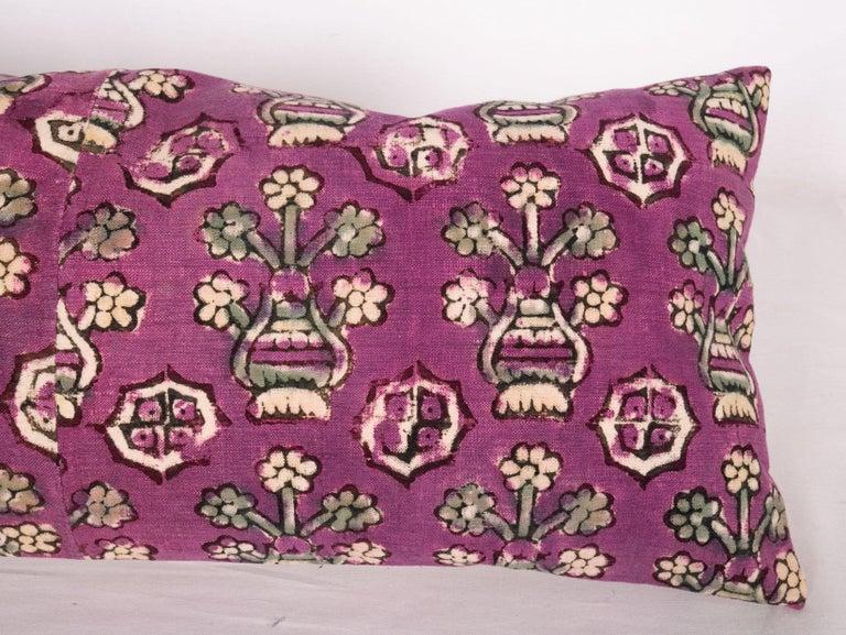 Turkish Anatolian Block Print Pillow Case, Mid-20th Century For Sale