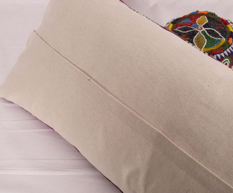 Anatolian Block Print Pillow Case, Mid-20th Century In Good Condition For Sale In Istanbul, TR