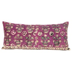 Anatolian Block Print Pillow Case, Mid-20th Century