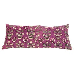 Anatolian Block Print Pillow Case, Mid-20th Century