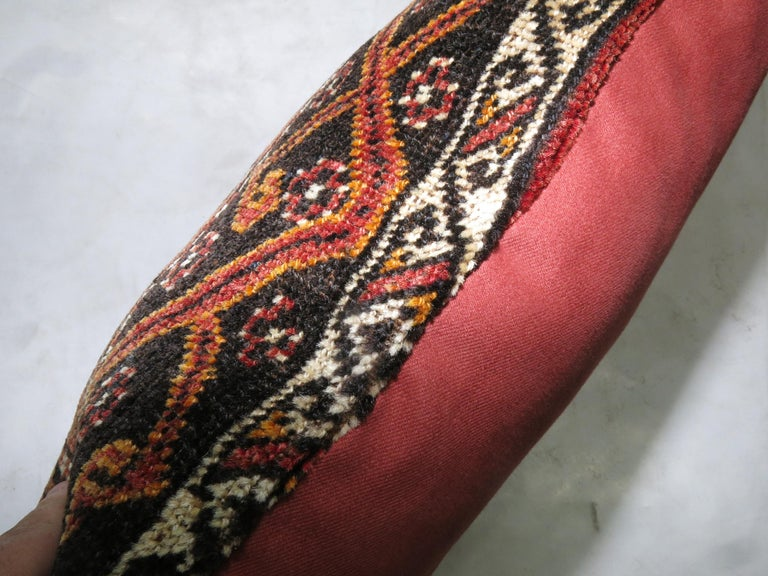 Pillow made from a vintage Anatolian Turkish rug.