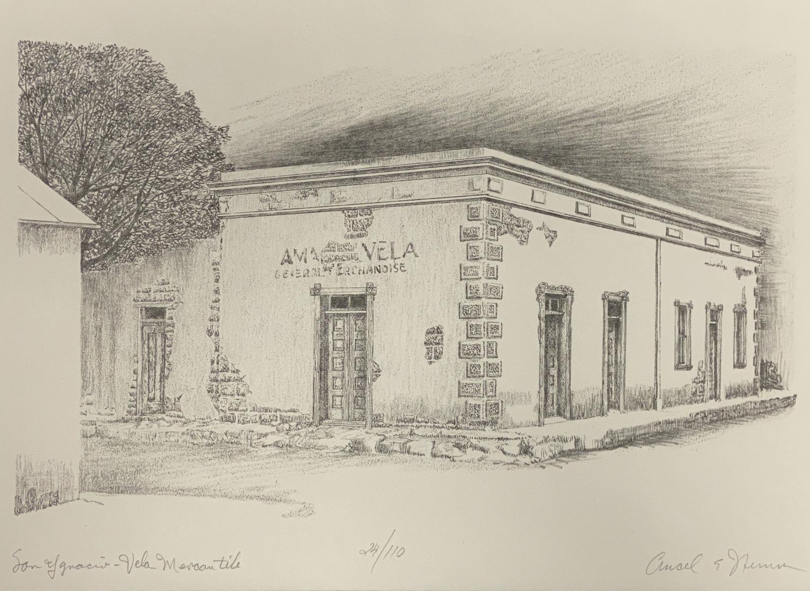 """""""San Ygnacio - Vela Mercantile""""   Texas"""