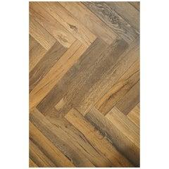 Ancient '2300 Years Old' European Hardwood Parquet Flooring