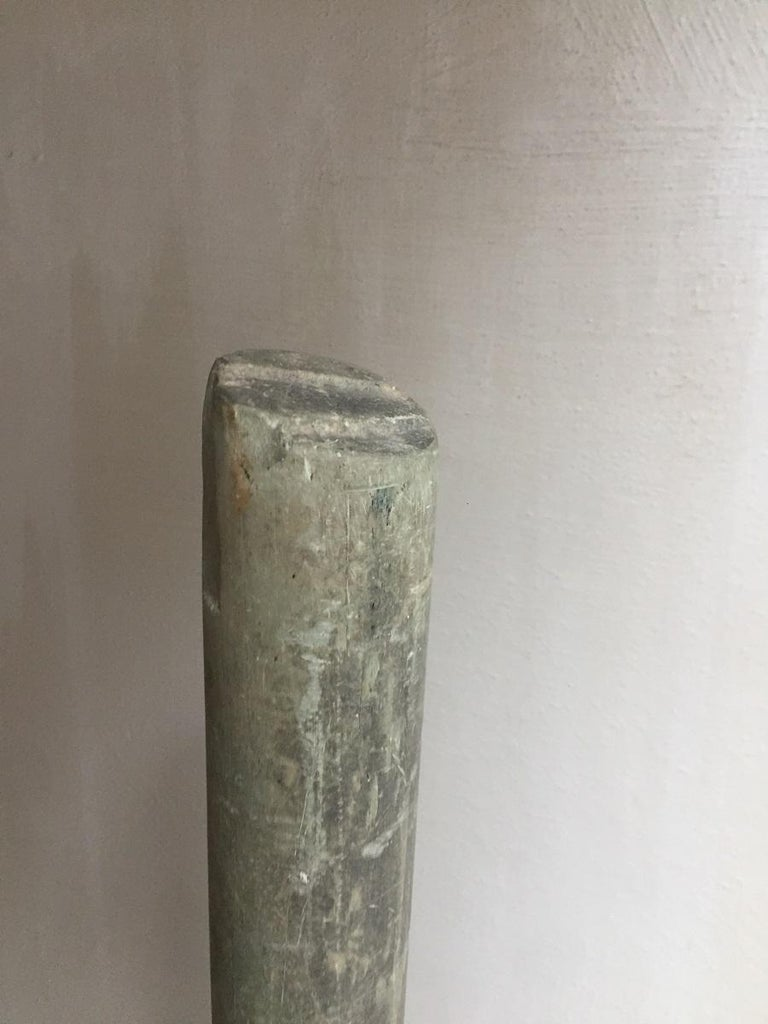 Ancient Bactrian Marble Idol Staff Sceptor For Sale 4