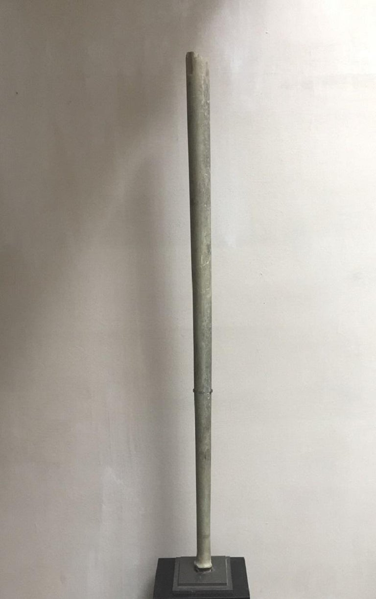 Ancient Bactrian Marble Idol Staff Sceptor For Sale 8