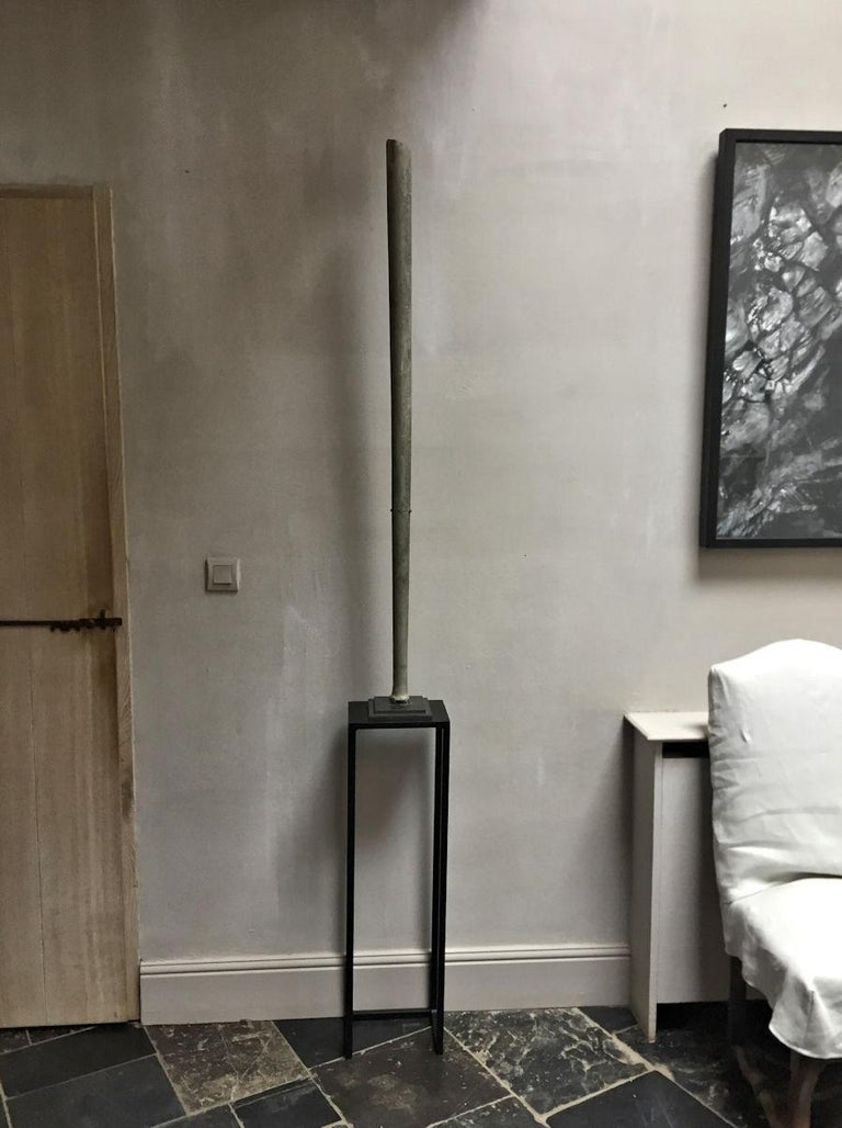 Ancient Bactrian Marble Idol Staff Sceptor For Sale 3