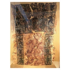 Ancient Coptic Textile with Classical Figures