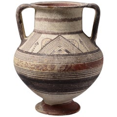 Ancient Cypriot Archaic Amphora, 700 BC