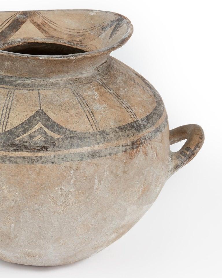 Italian Ancient Daunian Vessel, 6th-5th Century BC, Apulia, Italy For Sale
