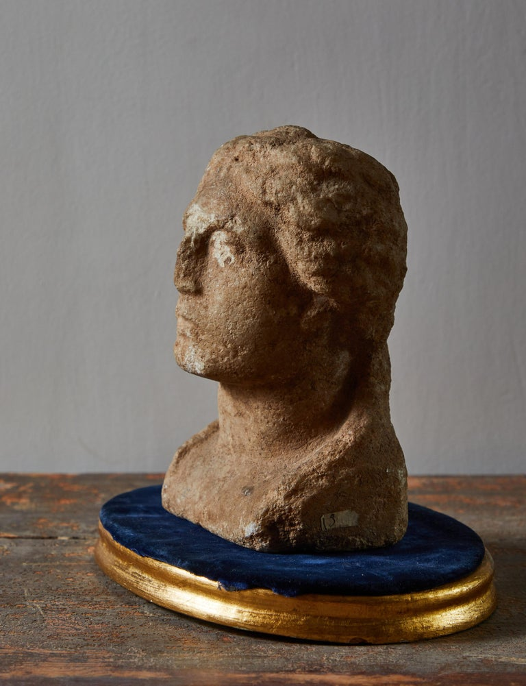 Greek Ancient Grecian Bust For Sale