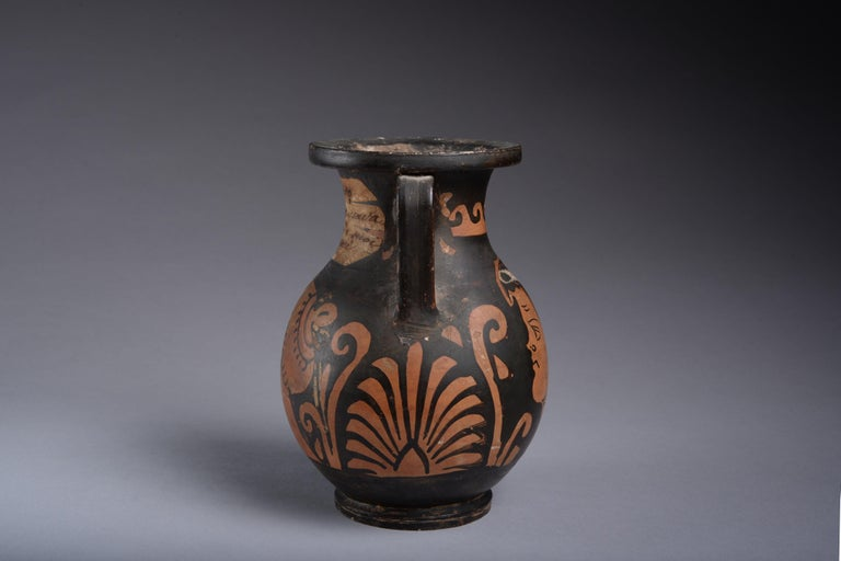 Classical Greek Ancient Greek Red Figure Pelike Vase, 350 BC For Sale