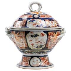 Antique Imari Tureen with Cover, Japan, 19th Century