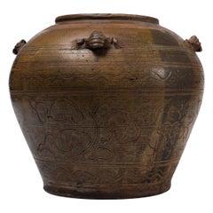 Ancient Jar, Asia, 19th Century
