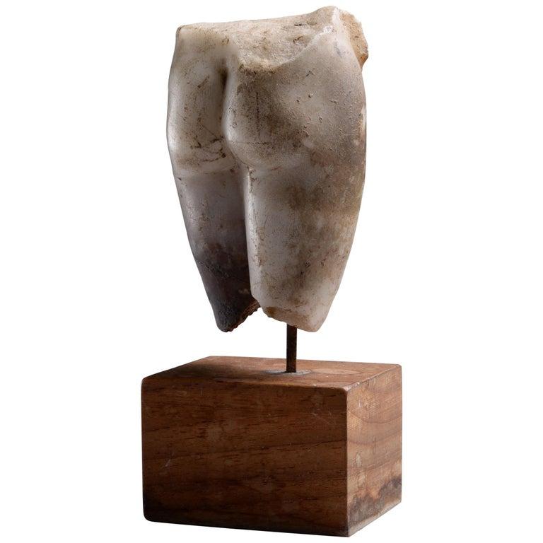 Ancient Roman Marble Figure of Venus Pudica, 150 AD For Sale