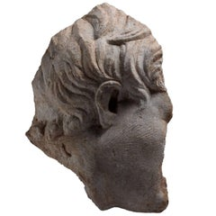 Ancient Roman Marble Sculpture of a Boy, 15th Century