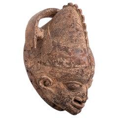 Ancient Yoruba Wooden Mask, Nigeria/Benin