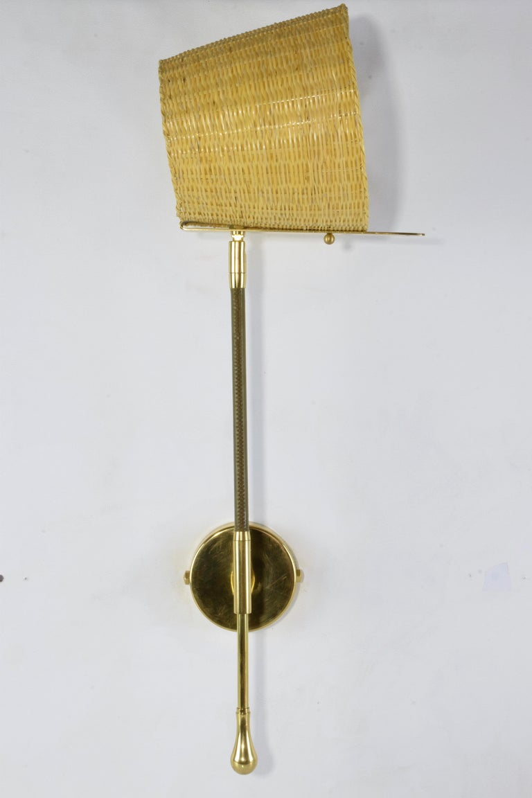 Brass Articulating Wall Sconce