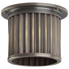 And Objects Littleton End Cap Spot Diffuser, Brass Bronze Recessed Light Shade