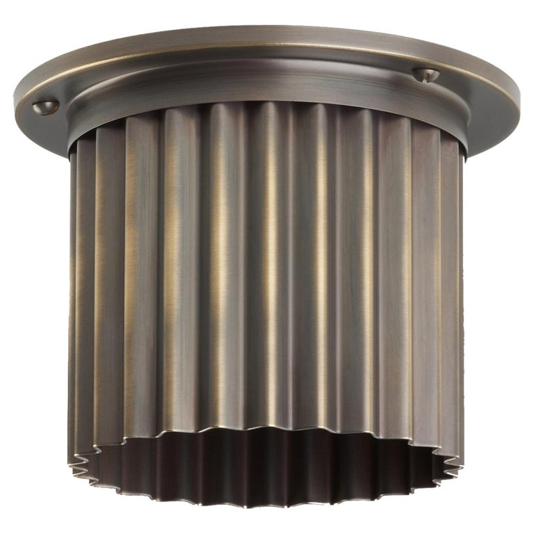 And Objects Littleton Spot Diffuser, Brass Bronze Recessed Spot Light Shade For Sale