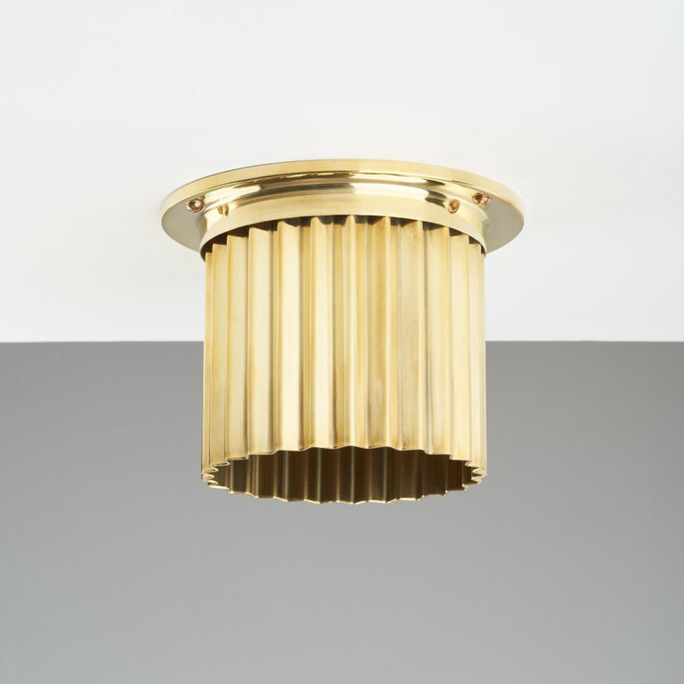 And Objects, product design studio founded by Martin Brudnizki and Nick Jeanes based in London.  Softly diffusing light and channeling Industrial Design influences, the Spot Diffusers have been designed to cover and decorate widely used recess