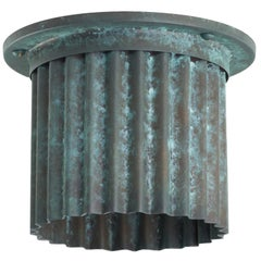 And Objects Littleton Spot Diffuser, Verdigris Recessed Spot Light Shade
