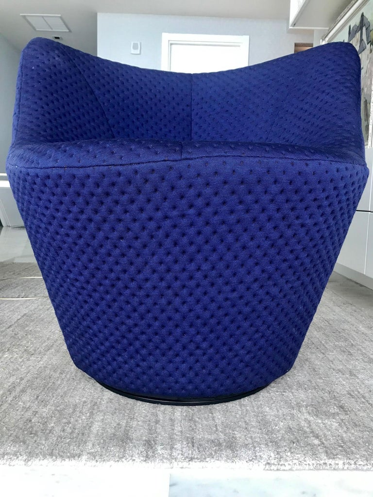 Anda Swivel Armchair and Ottoman by Pierre Paulin for Ligne Roset, circa 2018 For Sale 4