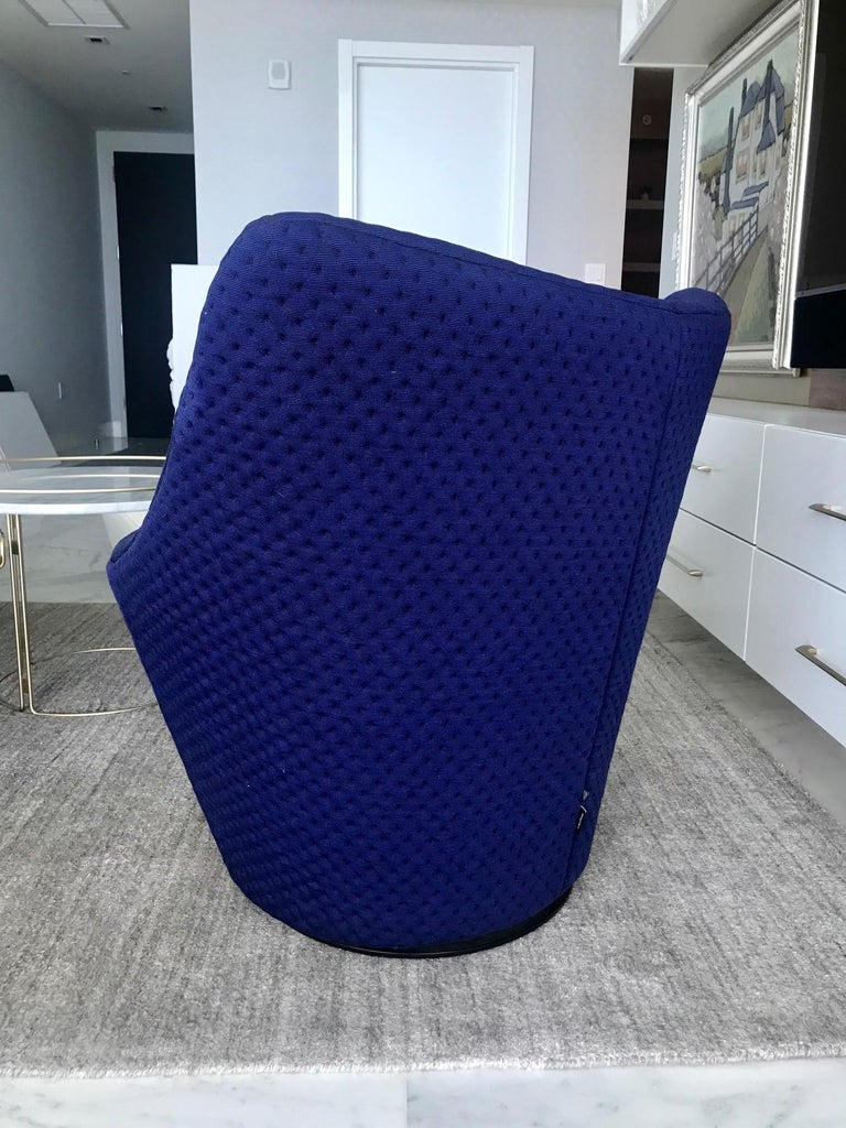 Anda Swivel Armchair and Ottoman by Pierre Paulin for Ligne Roset, circa 2018 For Sale 1