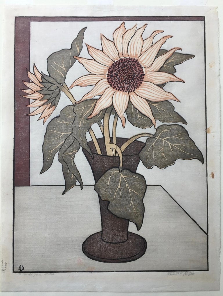 THE SUNFLOWER - Print by ANDERS ALDRIN