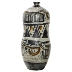 Anders Bruno Liljefors Rare, Large Scale Vase