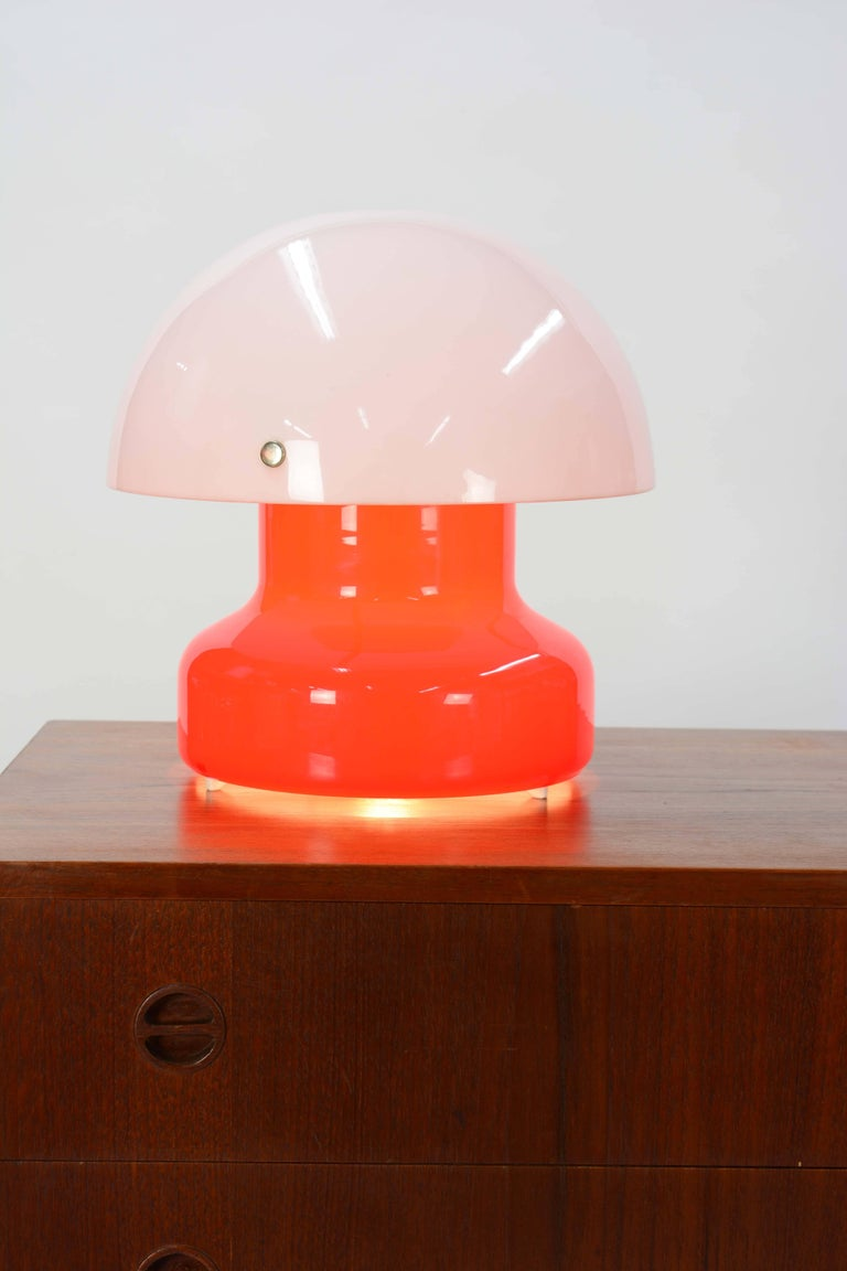 Swedish Anders Pehrson for Ateljé Lyktan Mushroom Desk Lamp For Sale