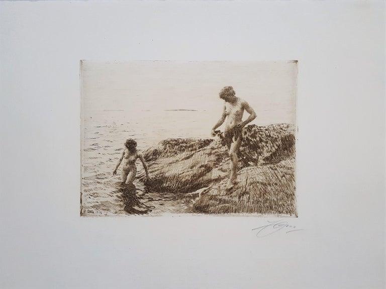 Seaward Skerries - Print by Anders Zorn