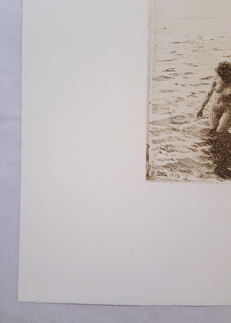 Seaward Skerries - Impressionist Print by Anders Zorn