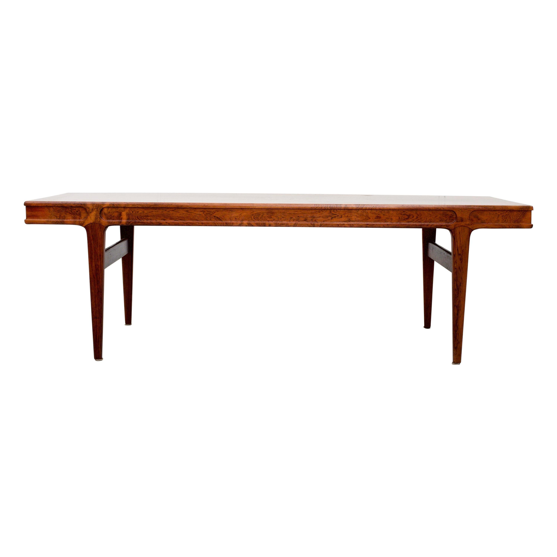 Rosewood Coffee Table by Johannes Andersen, Denmark, 1960's