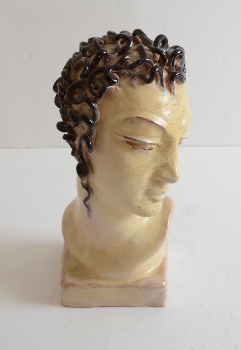 Swedish Andersson & Johansson, Sculpture, Höganäs, Art Deco