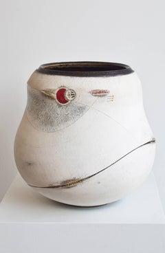 Scarified Large Udu Vase