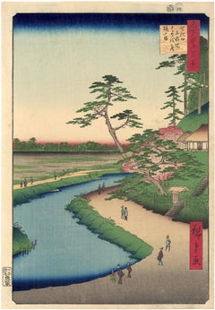 Basho's Hermitage (First, Deluxe Edition) from 100 Views of Edo