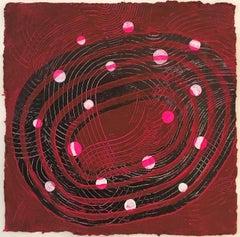 Andra Samelson, Orbital, 2016, Acrylic Paint, Rag Paper