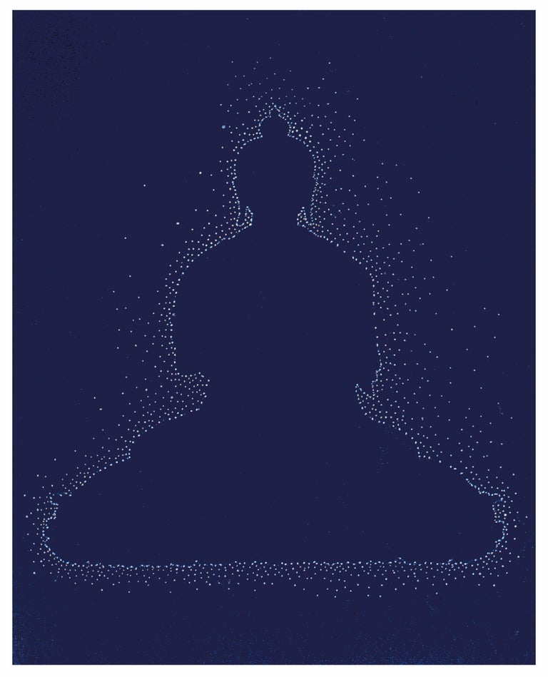 Andra Samelson, Buddha, 2019, archival pigment print, Ed 1/25, 14 x 11 inches - Print by Andra Samelson